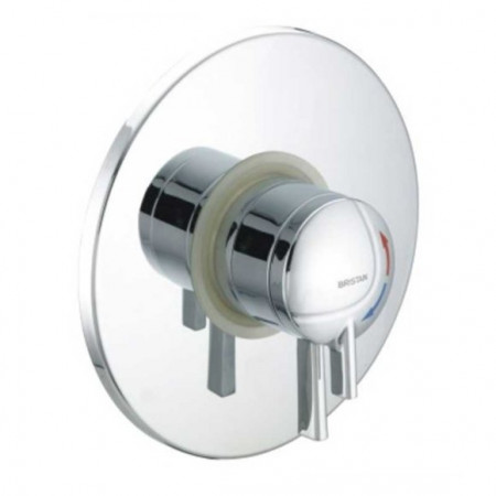 Bristan Stratus Thermostatic Dual Control Concealed Shower Valve Chrome Levers