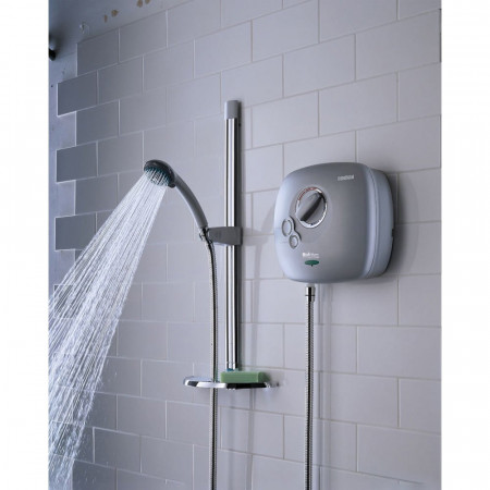 Bristan Thermostatic Power Shower 1500 in White