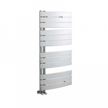 Hudson Reed Elgin Chrome Curved Designer Heated Towel Rail 1080 x 550mm HL336