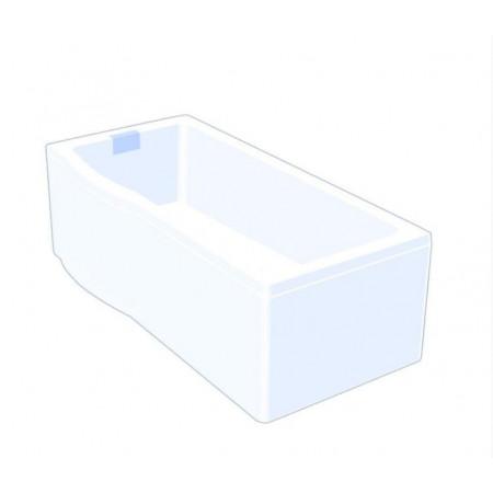 Carron Celsius 1700mm Left Hand Shower bath Drawing