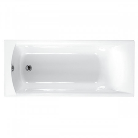 Carron Delta 1400 x 700mm Single Ended Bath top view