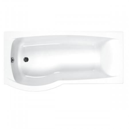Carron Delta 1600 x 700-800mm Left Hand Shower Bath