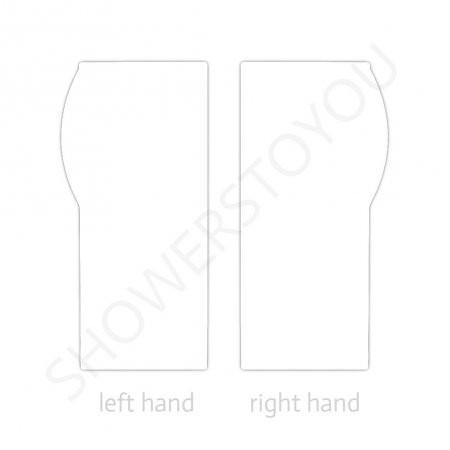 Carron Delta 1700 x 700-800mm Right Hand Shower Bath Hand Option