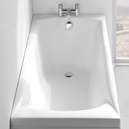 Carron Delta 1675 x 700mm Single Ended Bath in room setting