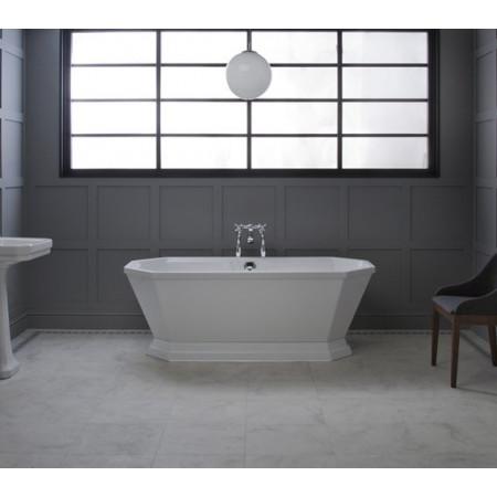Carron Highgate 1750 x 800mm Freestanding Carronite Bath