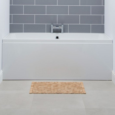 Carron Profile Carronite 1750 x 750mm Double Ended Bath in room setting