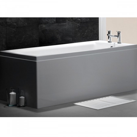 Carron Quantum 1600 x 800mm Single Ended Bath Room Setting