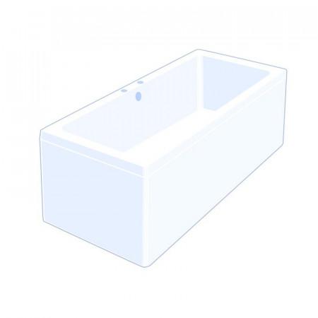 Carron Quantum 1700 x 750mm Double Ended Bath