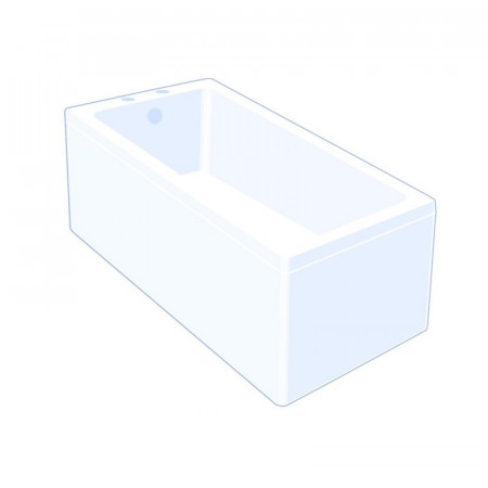 Carron Quantum 1800 x 725mm Single Ended Bath