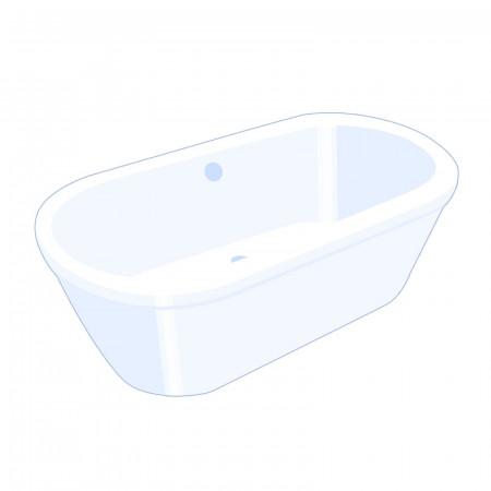 Carron halcyon 1750x800mm insert bath