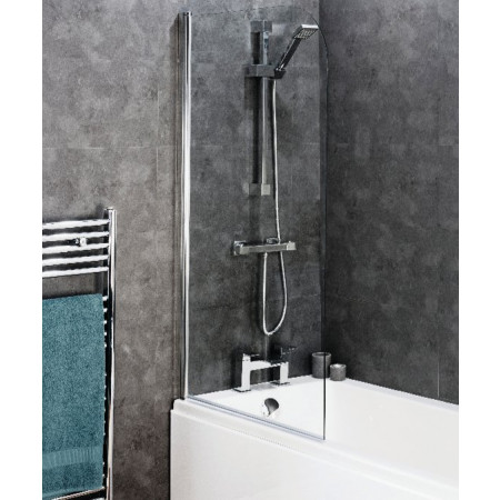 Cassellie 8mm Curved Top Bath Screen