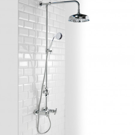 Cassellie Damson Thermostatic Mixer Shower