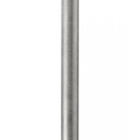 Croydex 600mm Stainless Steel Straight Grab Bar with Anti-Slip Grip - Chrome