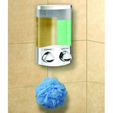 Croydex Euro Duo Chrome Soap Dispenser   PA660941
