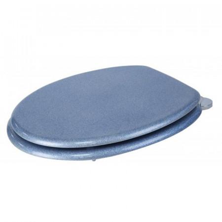 S2Y-Croydex Flexi-Fix Blue Quartz Toilet Seat-2