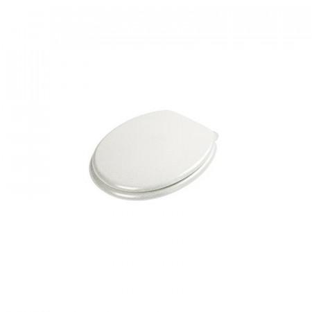 S2Y-Croydex Flexi-Fix White Quartz Toilet Seat-2