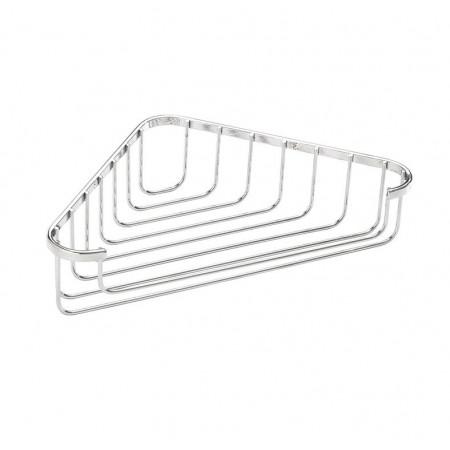 Croydex Stainless steel corner soap basket