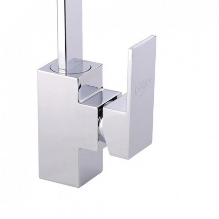 Francis Pegler Maverick Tall basin mixer with click waste