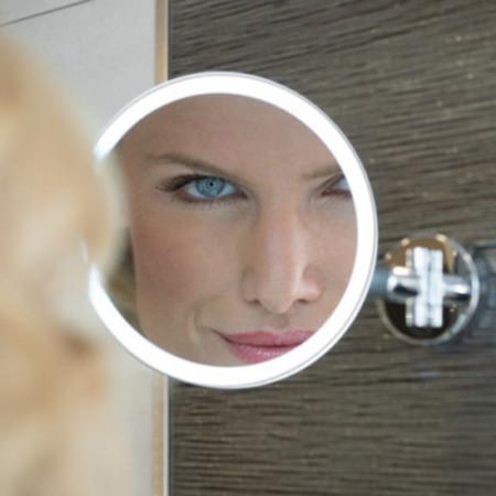 HIB Eclipse Round LED Magnifying Mirror