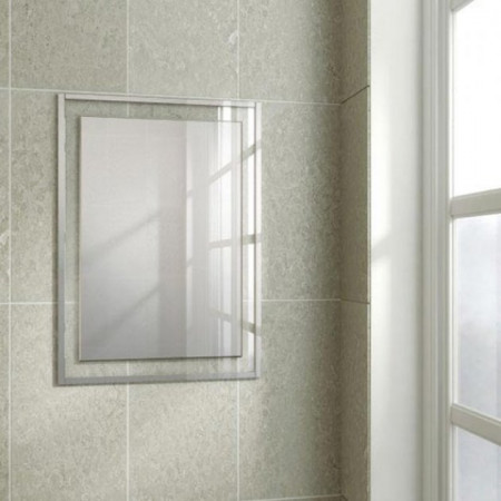 HIB Georgia Bathroom Mirror 700x500mm 1