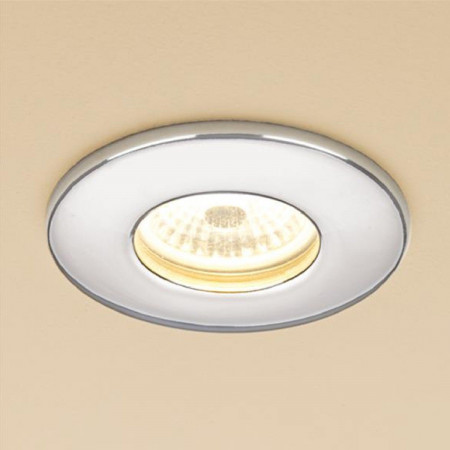 HIB Infuse Warm White Fire Rated LED Showerlight in Chrome