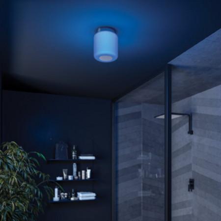 HIB Rhythm Bluetooth Ceiling Light Blue