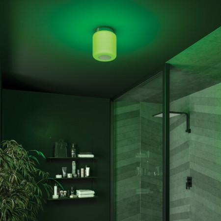 HIB Rhythm Bluetooth Ceiling Light Green