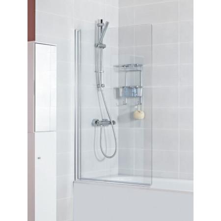 Haven Single Panel Square Bath Screen