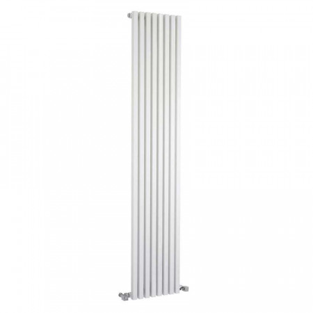 Hudson Reed Kinetic Vertical Radiator White 1800mm x 360mm