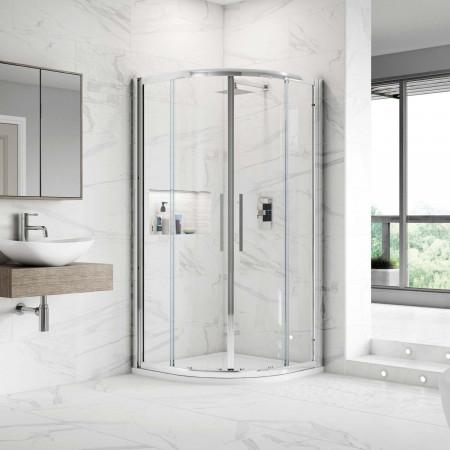 Hudson Reed Apex Quadrant Shower Enclosure 800 X 800mm