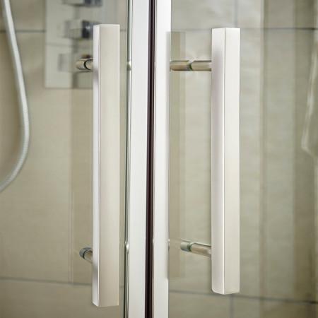 Hudson Reed Apex Sliding Shower Door 1000mm Handle