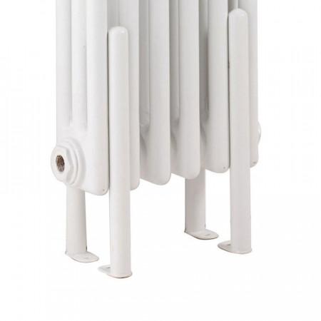Hudson Reed Colosseum Floor Mounting Legs - High Gloss White