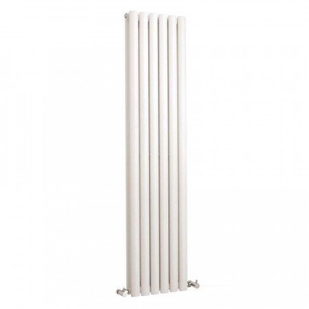 Hudson Reed Revive Double Panel Vertical Radiator 1500 x 355 White HL368