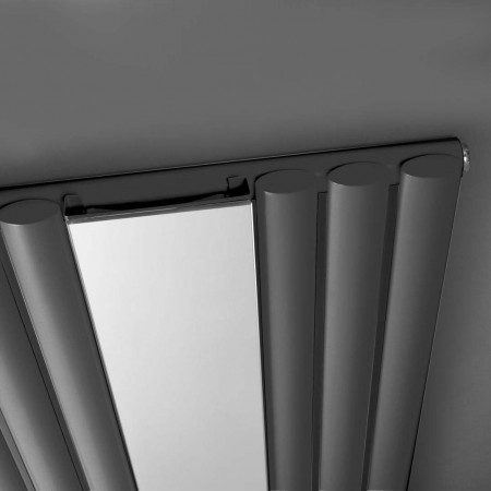 Hudson Reed Revive Radiator Single Panel With Mirror 1800 x 500 HLA78