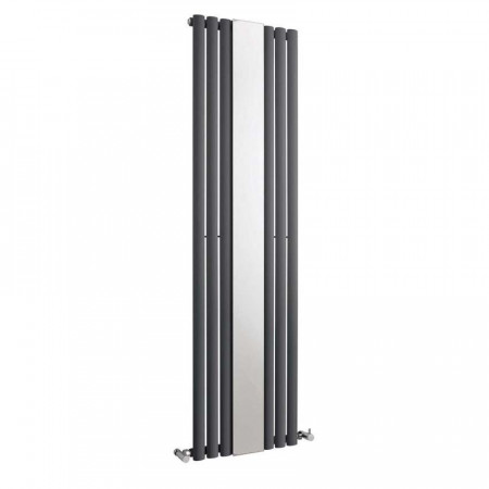 Hudson Reed Revive With Mirror Double Panel Designer Radiator 1800 x 500 HLA79