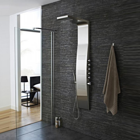 Hudson Reed Dream Surface Thermostatic Shower Panel