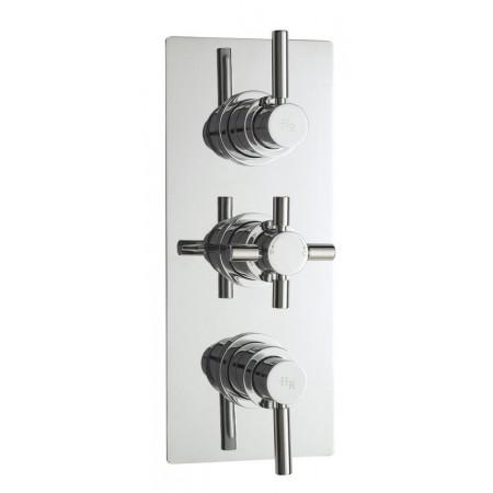 Hudson Reed Tec Pura Triple Thermostatic Shower Valve