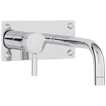 Hudson Reed Tec Single Lever Wall Mounted Basin Bath Filler