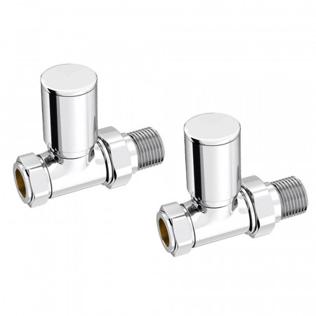 Kartell 15mm Straight Radiator Valve (Pair) | KART-STR