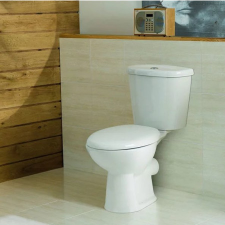 Kartell G4k WC Pan, Cistern and Supreme Soft Close Seat