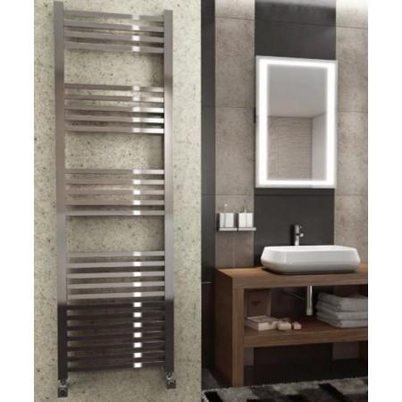 Kartell K Squared Straight Chrome Plated Towel Rail 500 x 800mm