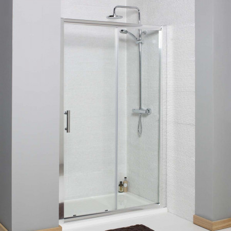 Kartell Koncept Sliding Shower Door 1000mm