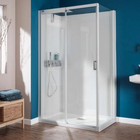 Kinedo Kinemagic Design Corner Shower Pod - Sliding Doors - H1200xW700