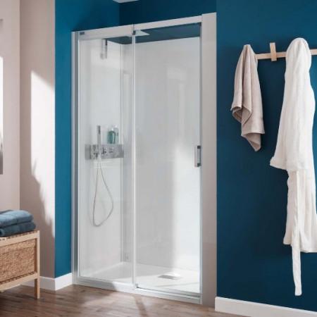 Kinedo Kinemagic Design Recess Shower Pod - Sliding Doors - H1200xW800