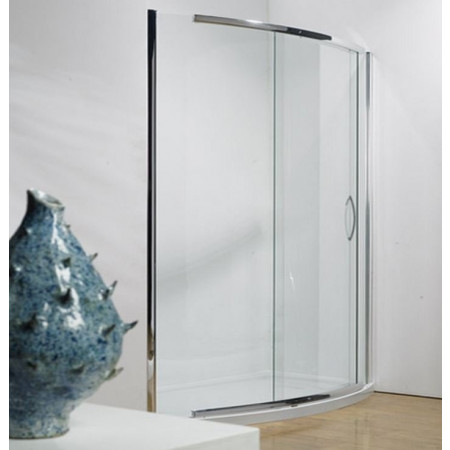 Kudos Infinite 1200mm Bowed Sliding Door Enclosure with Side Access