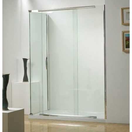 Kudos Infinite 1500mm Straight Sliding Door Enclosure with Side Access 4SDS150S