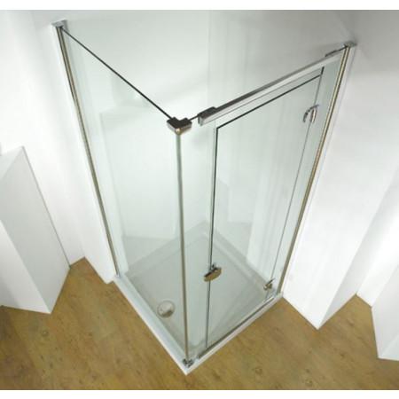 Kudos Infinite 800mm Straight Hinged Door Enclosure 4HD80S