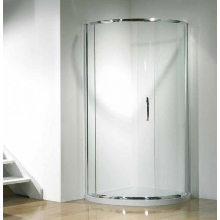 Kudos Infinite 910mm Curved Sliding Door Enclosure with Side Access Opening