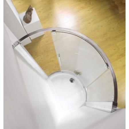 Kudos Original Curved Offset Slider 1000 x 810mm (Side Access)
