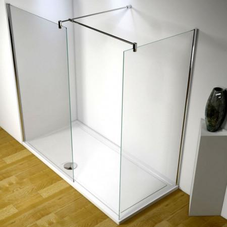 Kudos Ultimate 1700mm Complete Walk-in Corner Enclosure Package 10mm Glass